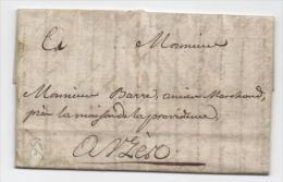 1778 - LETTRE De SAINT AMBROIX (GARD) - 1701-1800: Precursors XVIII