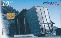 Telefoonkaart - Zwitserland. Swiss Telecom. Taxcard. CHF 10. Atelier Simon Jacomet, Surrein.