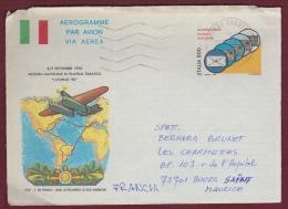 "A 24 Von ""33064 LIGNANO SABBIADO ..."" Nach Bourg Seint Maurice (F) (u028) - 6. 1946-.. Repubblica"