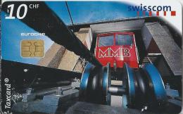 Telefoonkaart - Zwitserland. Swiss Telecom. Taxcard. CHF 10. Standseilbahn Muottas Muragl.