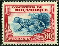 SOCIETA MOZAMBICO, MOZAMBIQUE COMPANY, FAUNA, 1937, FRANCOBOLLO USATO, Mi 210, Scott 184, YT 187 - Mozambique