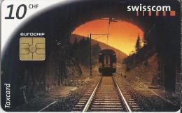 Telefoonkaart - Zwitserland. Swiss Telecom. Taxcard. CHF 10. Was Die Schweiz Verbindet. Foto: Michel Jaussi. - Zwitserland