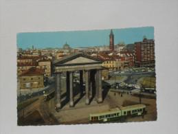 MILANO - Piazzale XXIV Maggio - Tram / Filobus - Anni '60 - Milano