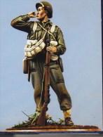 """- NEMROD - Figurine """"  Pourvoyeur FM BREN Canadian Rgt De La Chaudière 1944 """" - 1/35° - Réf 35060 - Figurines"""