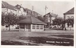 12766# PETANGE PLACE DU MARCHE 1954 LUXEMBOURG - Pétange