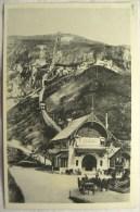 Cpa Cpsm LOURDES La Gare Du Pic Du Jer 2 Scans Postcard Ancienne Carte Postale - Lourdes