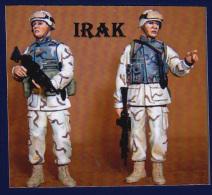 """- NEMROD - Figurines """"  US Infanterie Irak 2004 """" - 1/35° - Réf 35206 - Figurines"""