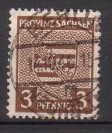 Alliierte Besetzung , SBZ , Provinz - Sachsen , 1945 , Mi.Nr. 74 X O / Used - Sowjetische Zone (SBZ)