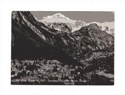 Aosta - X-Pré St. Didier - Panorama Sfondo Monte Bianco - Italia