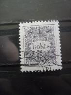 TCHECOSLOVAQUIE Taxe N°99 Dentelé 11,5 X 11 Oblitéré - Postage Due