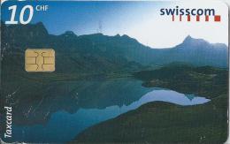 Telefoonkaart - Zwitserland. Swiss Telecom. Taxcard. CHF 10. Tannensee.