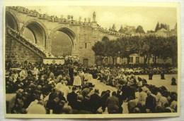 Cpa Cpsm LOURDES Bénédiction Générale Sur Le Parvis Du Rosaire 2 Scans Postcard Ancienne Carte Postale - Lourdes