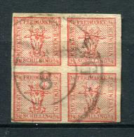 27342) MECKLENBURG-SCHWERIN # 1 gestempelt aus 1856, 150.- �