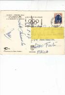 FRANCIA  1967 - Annullo Meccanico Illustrato - - Inverno1968: Grenoble