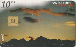 Telefoonkaart - Zwitserland. Swiss Telecom. Taxcard. CHF 10. Lucendro. foto: Jean Odermatt.