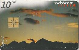 Telefoonkaart - Zwitserland. Swiss Telecom. Taxcard. CHF 10. Lucendro. Foto: Jean Odermatt. - Zwitserland