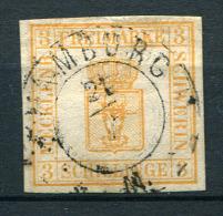 27343) MECKLENBURG-SCHWERIN # 2 gestempelt aus 1856, 70.- �