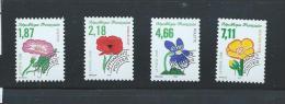 OA 6066/ FRANCE 1998 - Yvert Pré-oblitérés 240 à 243 ** - Fleurs Sauvages - Préoblitérés