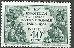 NIGER EXPO 1931  N � 53 NEUF* TTB