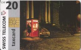 Telefoonkaart - Zwitserland. Swiss Telecom. Taxcard. CHF 20. Telefooncel. 2 Scans - Zwitserland