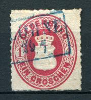 27363) OLDENBURG # 17 A Gestempelt Aus 1862, 20.- € - Oldenburg