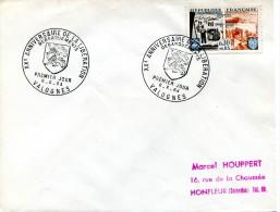 PJ Valognes Sur Timbre Libération 6 Juin 1944 Yvert 1409 - R 1381 - FDC