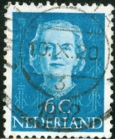 OLANDA, PAESI BASSI, NETHERLANDS, COMMEMORATIVO, REGINA GIULIANA, 1949,  USATO, Mi 526, Scott 307, YT 512B - Oblitérés