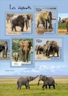 tg14512a Togo 2014 Elephants s/s