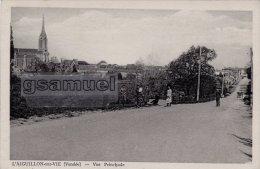 [85] Vendée > L'Aiguillon Sur Vie – Vue Principale (route Animée). - (voir Scan). - France