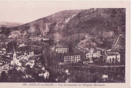 Amélie Les Bains- Carte NEUVE- Ed. Deville, Mercerie Bazar N° 150 (voir Description) - Other Municipalities
