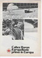 1967 - CALTEX Propellente (dragster Campione Del Mondo A Monza) - 1 P. Pubblicità Cm.13,5 X18,5 - Corse Di Auto