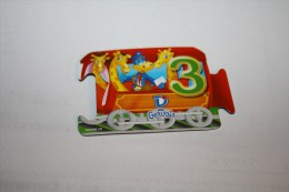 Magnet GERVAIS WAGON 3 - Letters & Digits