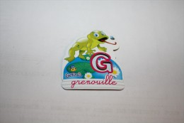 Magnet GERVAIS GRENOUILLE G - Letters & Digits