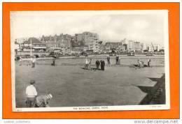 ..... POSTCARD UK HOVE THE BOWLING GREEN SPORTS & BUS 1940/50 ENGLAND UNITED KINGDOM  RAPHELTUCK POSTCARD TUCKS - Bowling