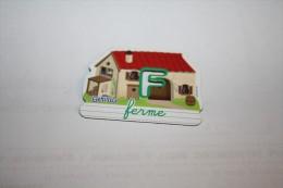 Magnet GERVAIS FERME F - Lettres & Chiffres
