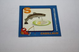 Magnet CABILLAUD S - Lettres & Chiffres