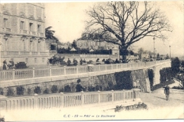 CPA PAU - LE BOULEVARD - Pau