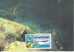 (L283) TAAF 2002 Diatomées Sur Carte Premier Jour N° Yvert 338 - FDC