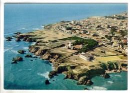 CPSM SION SUR L'OCEAN (Vendée) - La Corniche - France