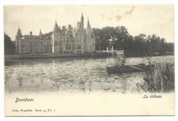 Carte Postale - BORNEM - BORNHEM - Le Château - Barque - CPA  // - Bornem