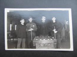 PHOTO (M42) STALAG VI F (2 Vues) MULHEIM / RUHR Billard Dim 9x14cm - Krieg, Militär