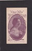 "CARTE PARFUMEE ANCIENNE / KERKOFF PARIS "" DJER-KISS "" Parfum Délicat Et Persistant - Perfume Cards"
