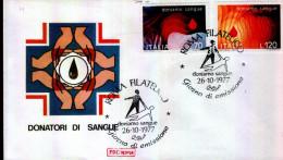 DONATORI DI SANGUE - 1977 - 6. 1946-.. Repubblica