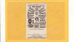 """CARTE PARFUMEE ANCIENNE / BON SECOURS """" LE PETIT PAVE """" - Perfume Cards"""