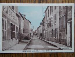 21 - IS sur TILLE - Rue G�n�ral Bouchu .