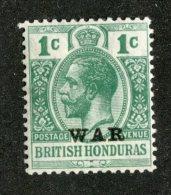 W1290  Br.Honduras 1917   Scott #MR2*   Offers Welcome! - British Honduras (...-1970)