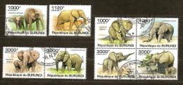 Burundi 2011 OCBn° 1294-97 (°) Used Cote 30 Euro Faune éléphants Olifanten
