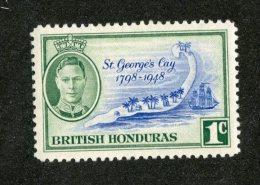 W1299  Br.Honduras 1949   Scott #131*   Offers Welcome! - British Honduras (...-1970)