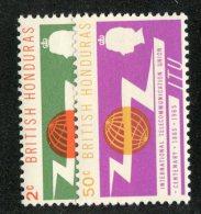 W1310  Br.Honduras 1965   Scott #187-88**   Offers Welcome! - Honduras Britannique (...-1970)