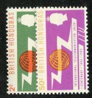 W1311  Br.Honduras 1965   Scott #187-88**   Offers Welcome! - British Honduras (...-1970)
